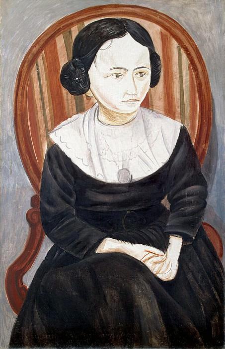 Derain, Andre - Girl in black. Hermitage ~ part 04