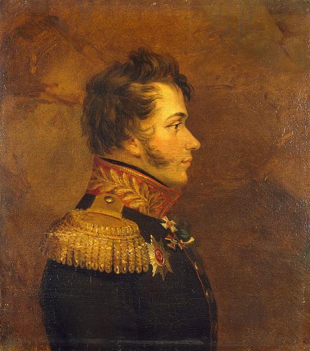 Dawe George - Portrait of Nikolai Danilovich Kudasheva. Hermitage ~ part 04