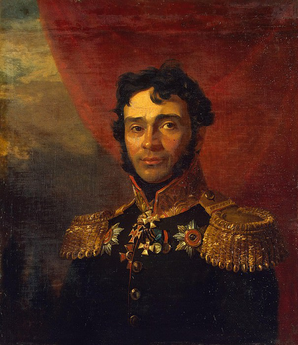 Dawe George - Portrait of Vladimir Petrovich Mezentseva. Hermitage ~ part 04