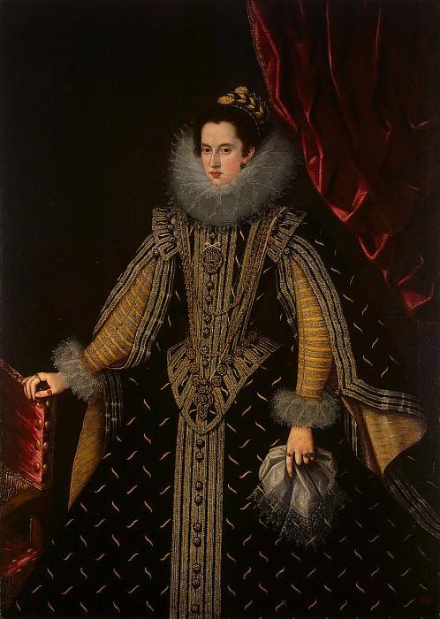 Гонсалес, Бартоломе - Портрет Маргариты Альдобрандини, герцогини Пармской. Эрмитаж ~ часть 4