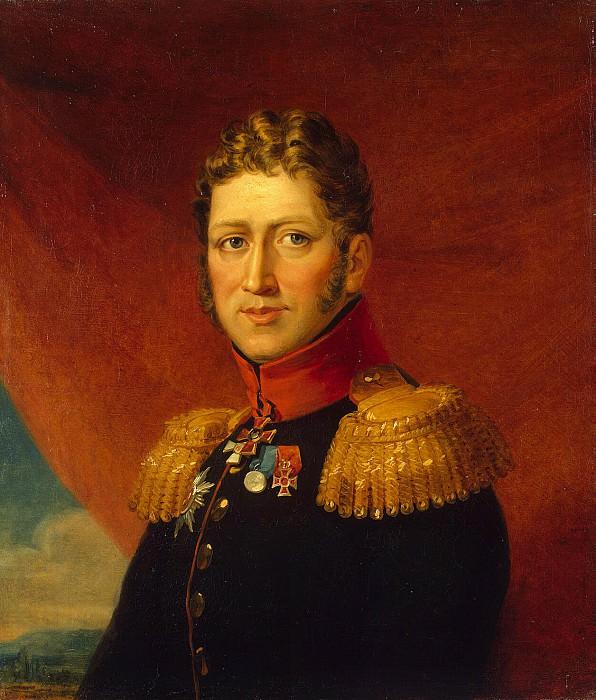 Dawe George - Portrait of Fyodor Vasilyevich Tail-van Seraskerkena. Hermitage ~ part 04