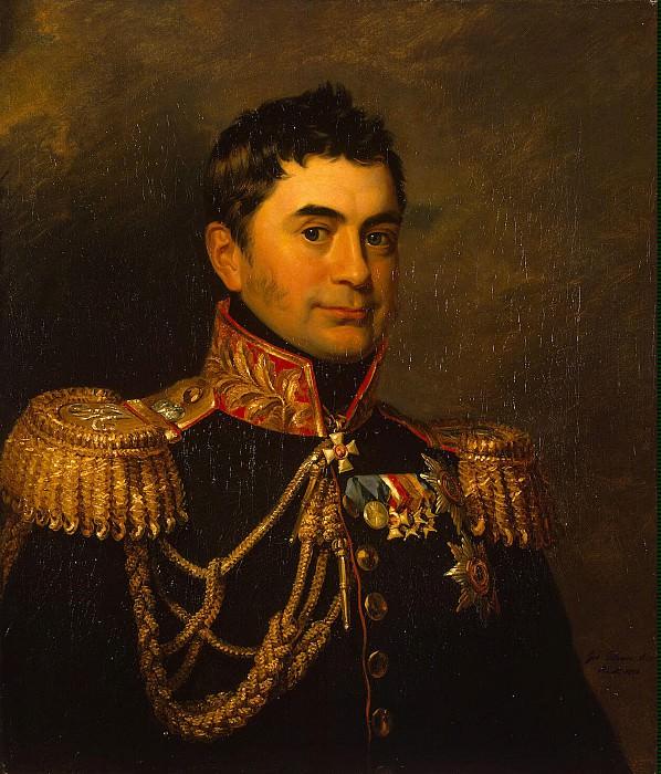 Dawe George - Portrait of Pyotr Mikhailovich Volkonsky. Hermitage ~ part 04