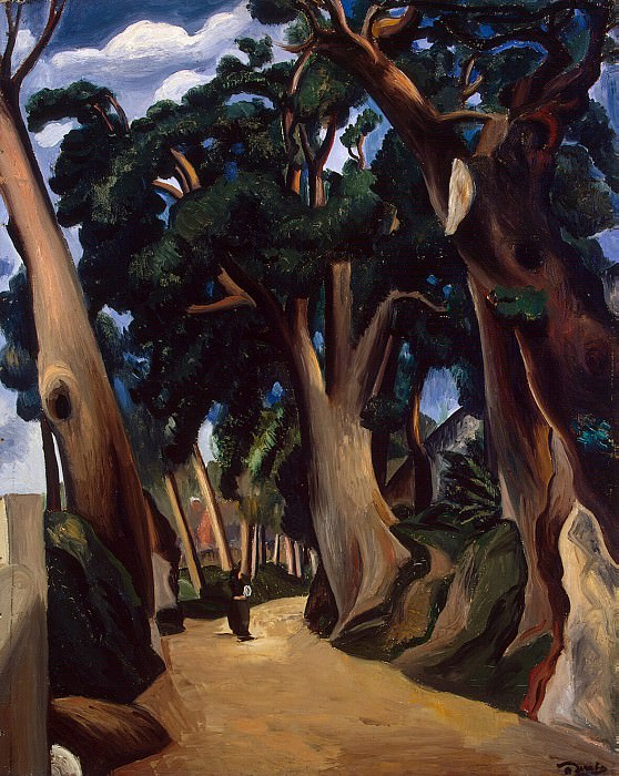 Derain, Andre - Road to Castel Gandolfo. Hermitage ~ part 04