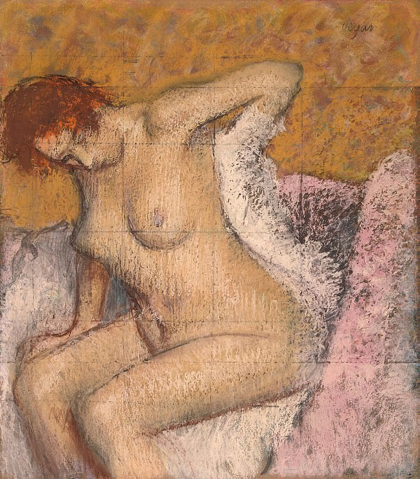 Degas, Edgar - After the bath. Hermitage ~ part 04