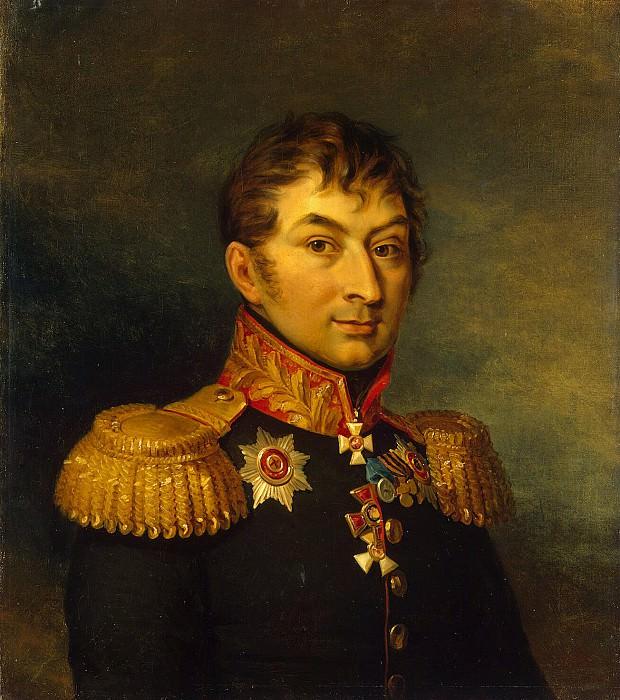 Dawe George - Portrait of Ivan Davydovich Panchulidzeva. Hermitage ~ part 04