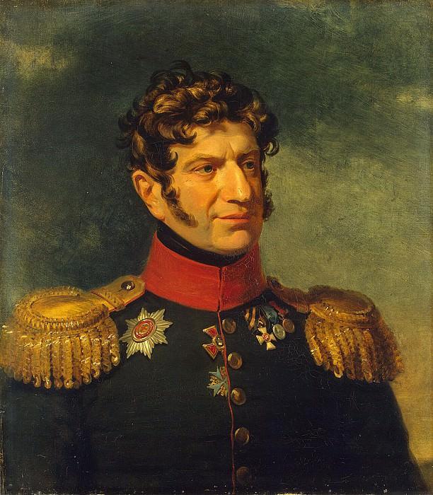 Dawe George - Portrait of Alexander Vladimirovich Rosen. Hermitage ~ part 04