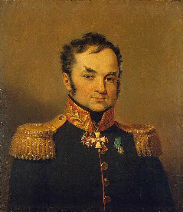 Dawe George - Portrait of Andrey Savich Glebova. Hermitage ~ part 04