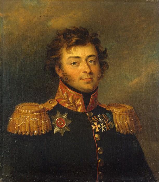 Dawe George - Portrait of Alexander Alexandrovich Bashilov. Hermitage ~ part 04