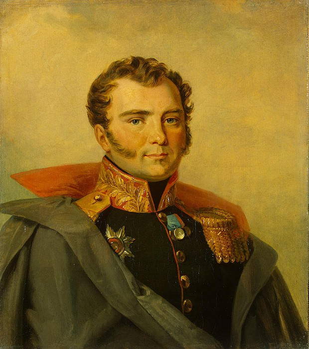 Dawe George - Portrait of Andrey Aleksandrovich Efimovich. Hermitage ~ part 04