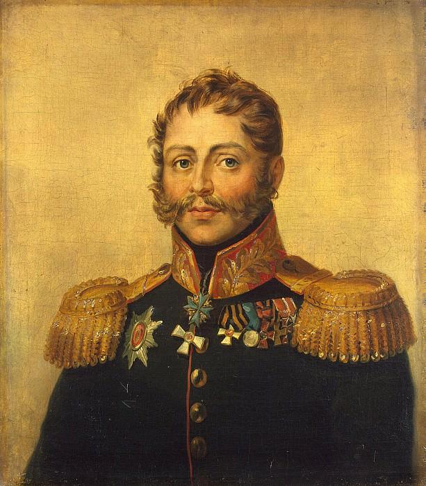 Dawe George - Portrait of Alexander Ivanovich Markov. Hermitage ~ part 04