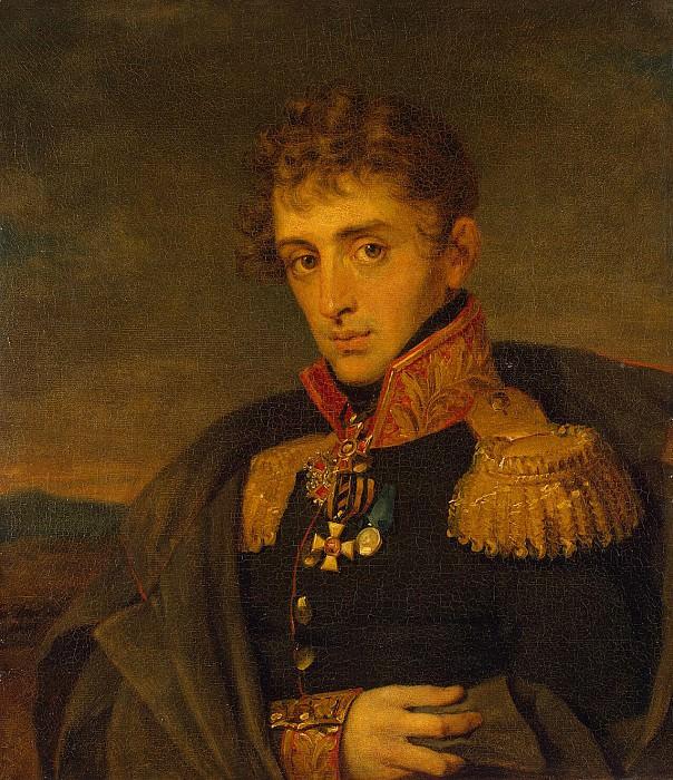 Dawe George - Portrait of Aleksandr Alekseevich Tuchkova. Hermitage ~ part 04