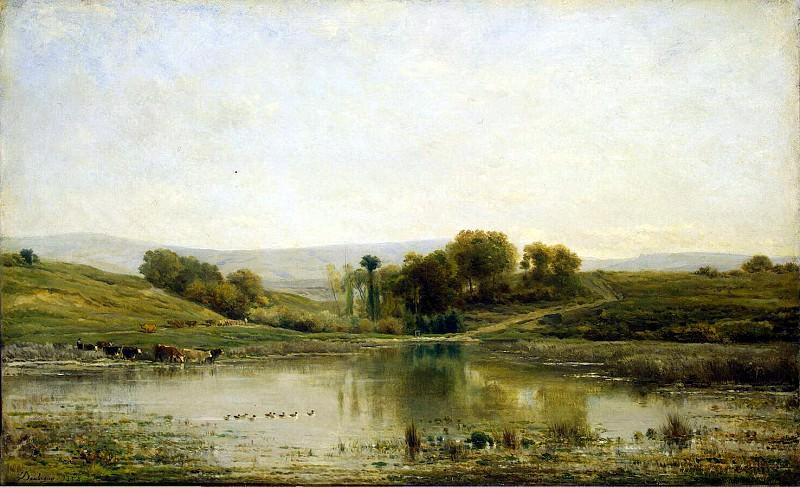 Добиньи, Шарль Франсуа - Пруд. Эрмитаж ~ часть 4