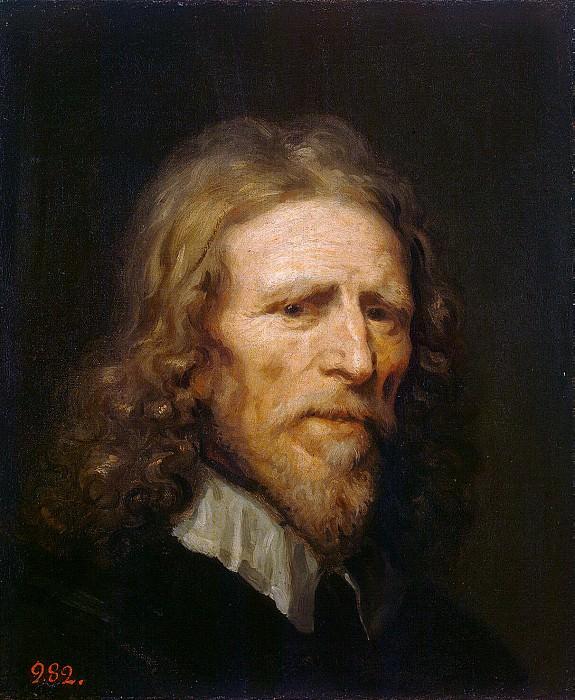 Dobson William - Portrait of Abraham van der Dortha. Hermitage ~ part 04