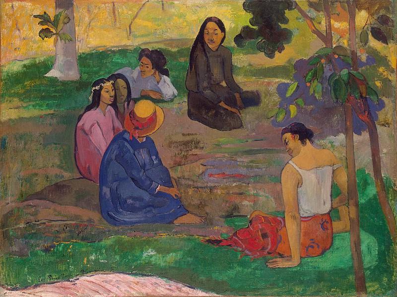 Gauguin, Paul - Conversation. Hermitage ~ part 04