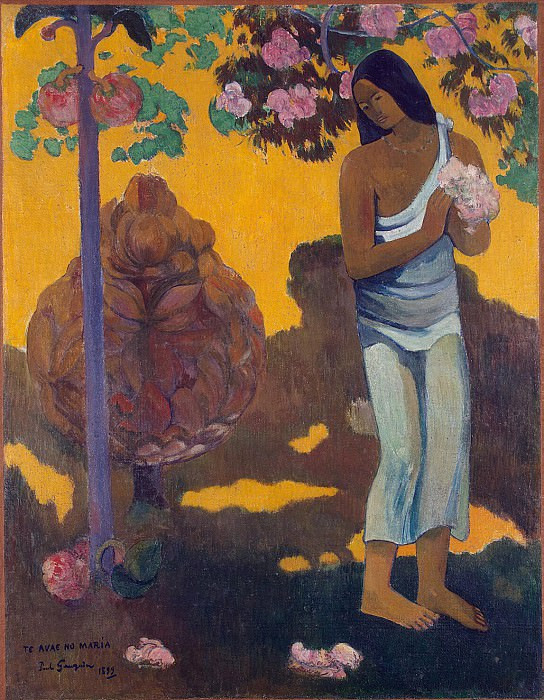 Gauguin, Paul - Month of Mary. Hermitage ~ part 04