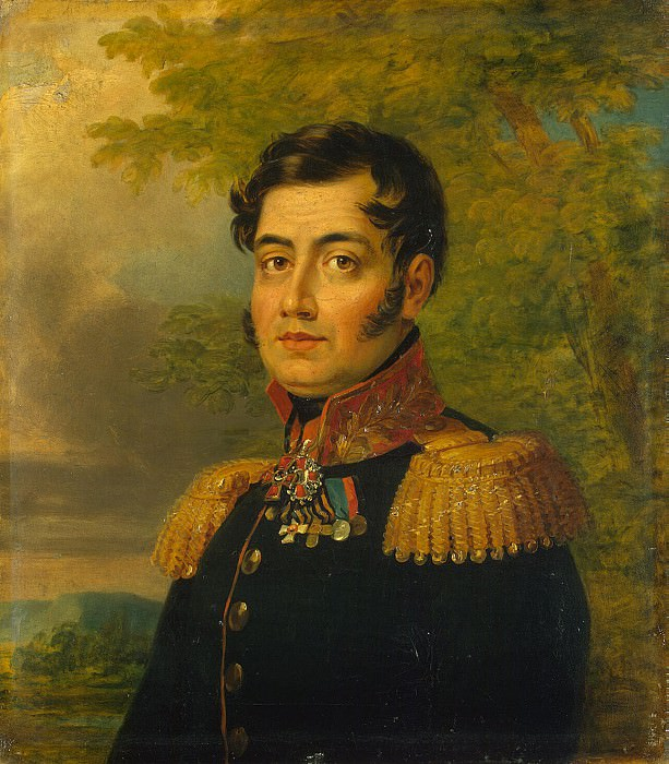 Dawe George - Portrait of Mikhail Fedorovich Naumova. Hermitage ~ part 04