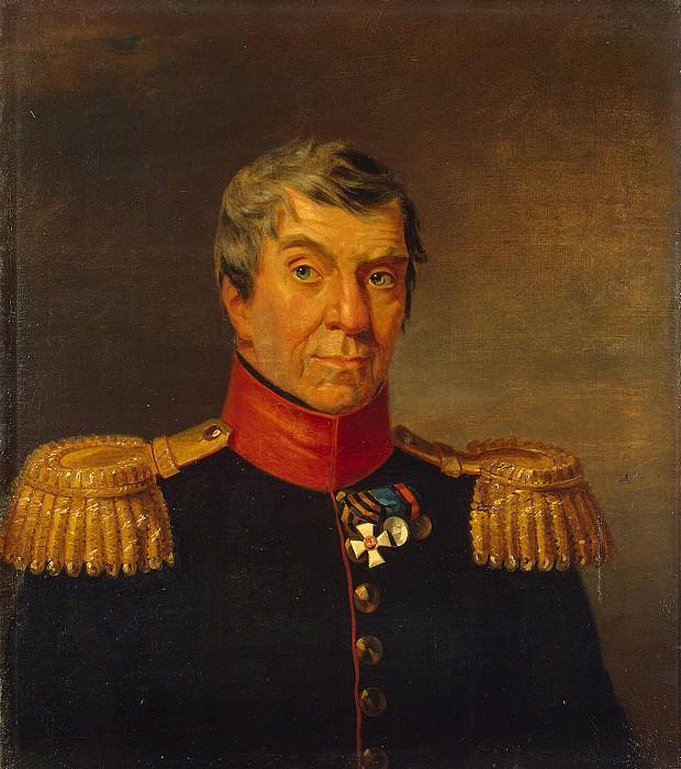 Dawe George - Portrait of Mikhail A. Shkapskogo. Hermitage ~ part 04