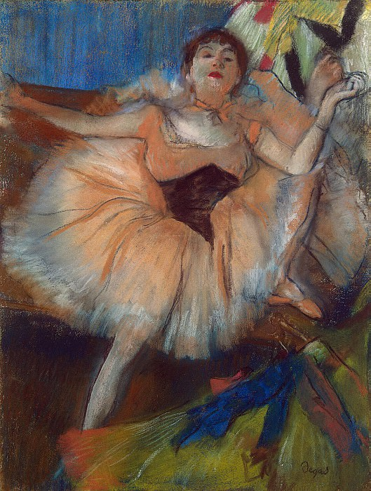 Degas, Edgar - Seated Dancer. Hermitage ~ part 04