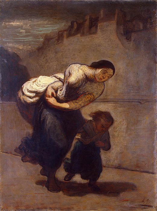 Daumier, Honore - Burden. Hermitage ~ part 04
