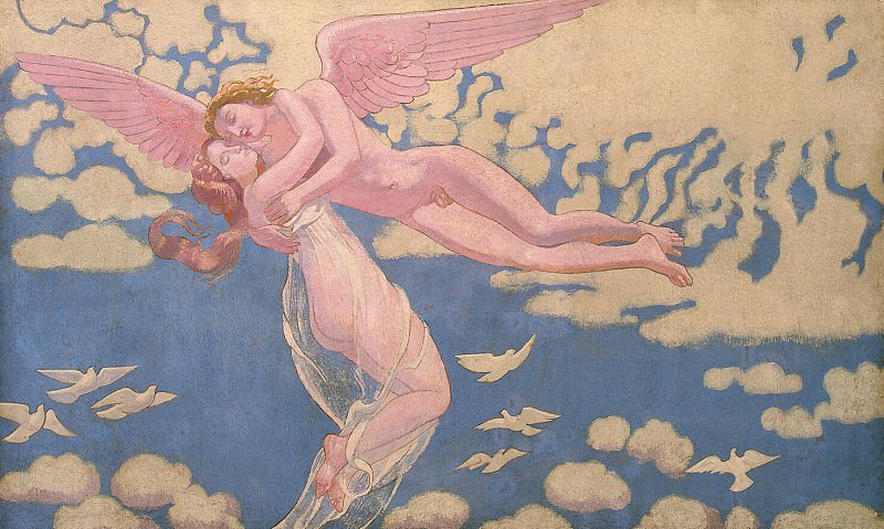 Denis Maurice - Panel seventh. Cupid Psyche carries the sky. Hermitage ~ part 04