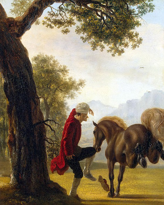 Hubert, Jean - Voltaire, taming a horse. Hermitage ~ part 04