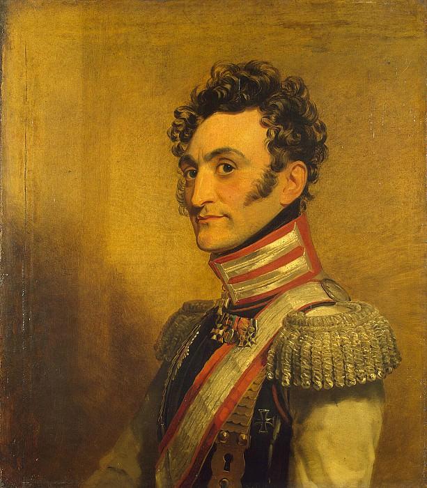 Dawe George - Portrait of Vladimir Ivanovich Kablukova. Hermitage ~ part 04