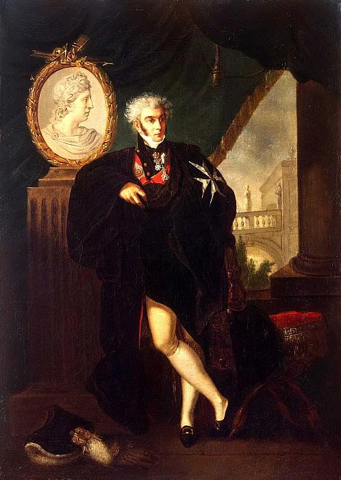 Guttenbrunn, Ludwig - Portrait of Dmitry L. Naryshkin. Hermitage ~ part 04