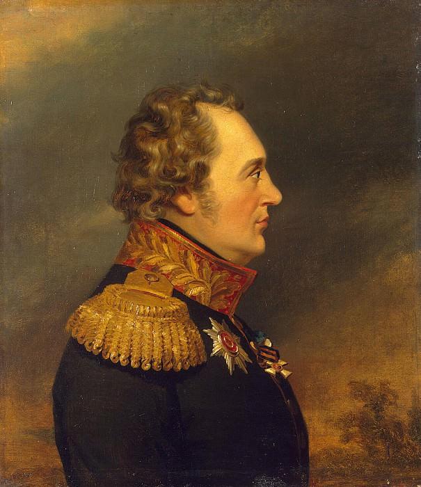 Dawe George - Portrait of Ivan Nikolaevich Essen. Hermitage ~ part 04