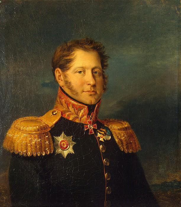 Dow, George - Portrait of Alexander Ivanovich Gresser. Hermitage ~ part 04