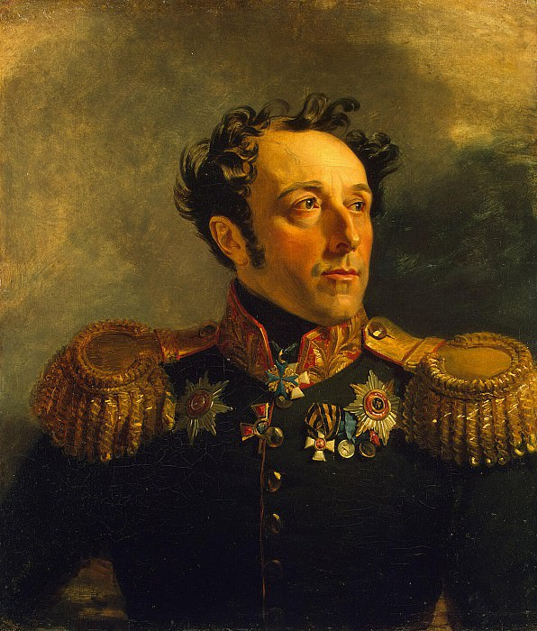 Dawe George - Portrait of Boris Yakovlevich Knyazhnin. Hermitage ~ part 04