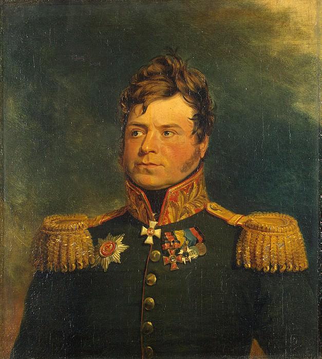 Dawe George - Portrait of Alexander Karlovich Ridingera. Hermitage ~ part 04