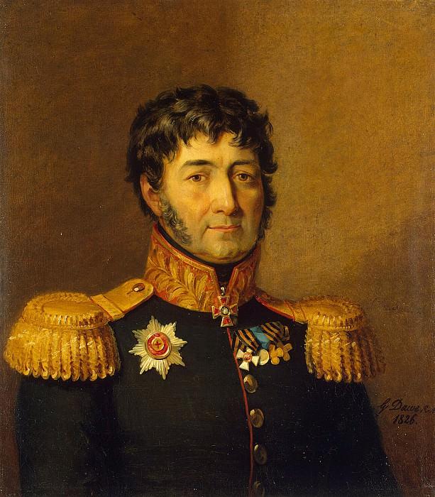 Dawe George - Portrait Syamyon Gangeblova. Hermitage ~ part 04