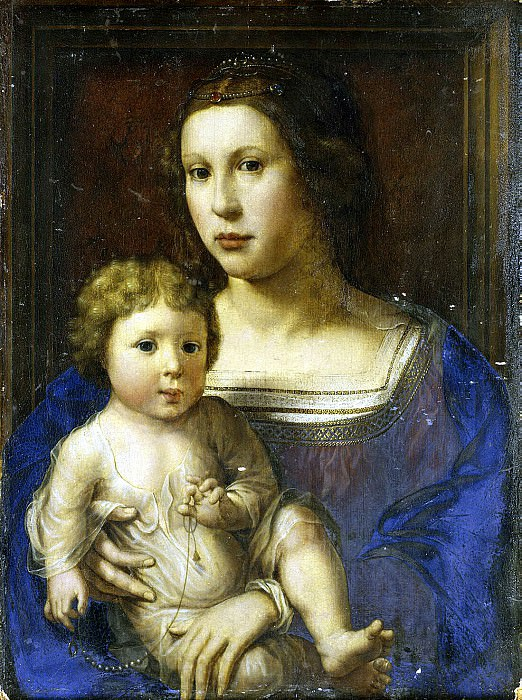 Gossaert, Jan - Madonna with Child. Hermitage ~ part 04