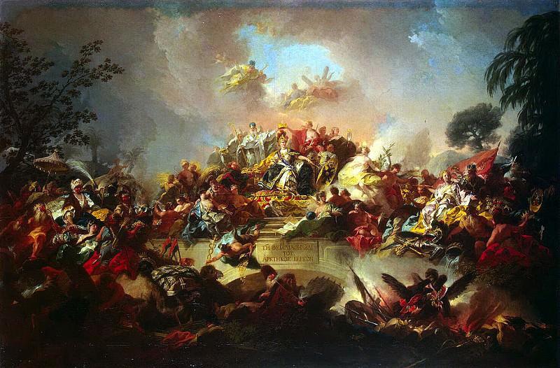 Гульельми, Грегорио - Апофеоз царствования Екатерины II. Эрмитаж ~ часть 4