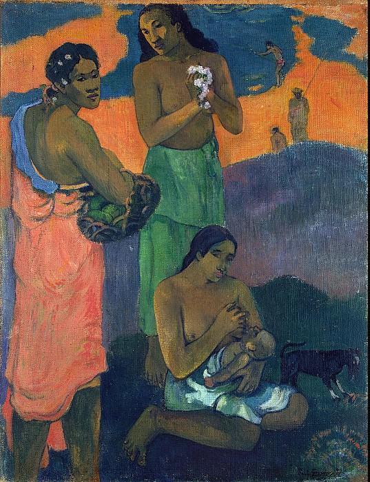 Gauguin Paul - Women on the beach. Hermitage ~ part 04
