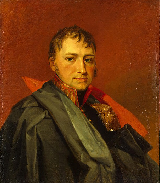 Dawe George - Portrait of Otto Buchholz Ivanovich. Hermitage ~ part 04