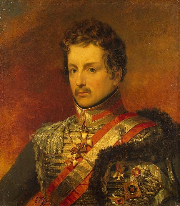 Dawe George - Portrait of Pavel Petrovich Palena. Hermitage ~ part 04