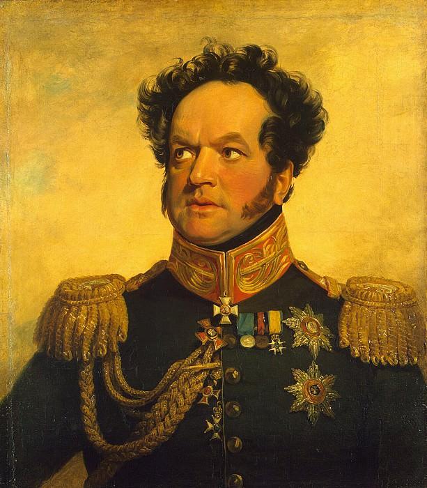 Dawe George - Portrait of Pavel Vasilyevich Golenishcheva-Kutuzov. Hermitage ~ part 04