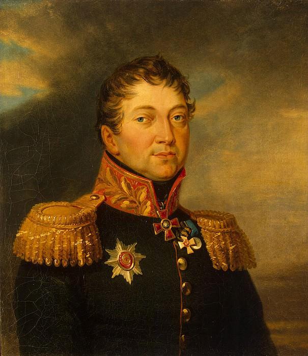 Dawe George - Portrait of Otto Fedorovich von Knorring. Hermitage ~ part 04