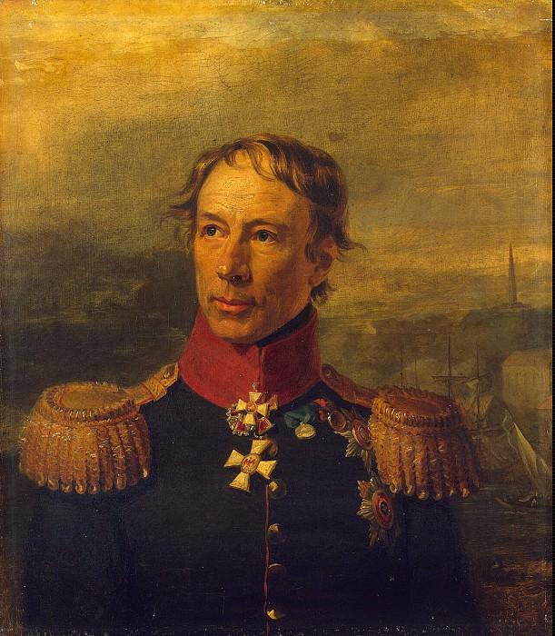 Dawe George - Portrait of Thaddeus Fedorovich Steingel. Hermitage ~ part 04