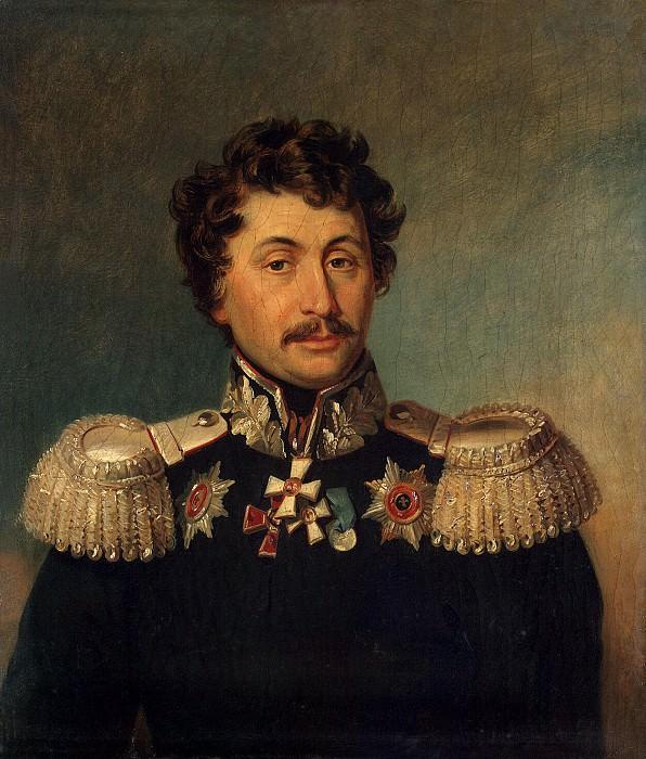 Dawe George - Portrait of Nikolai Vasilyevich Ilovaisky. Hermitage ~ part 04