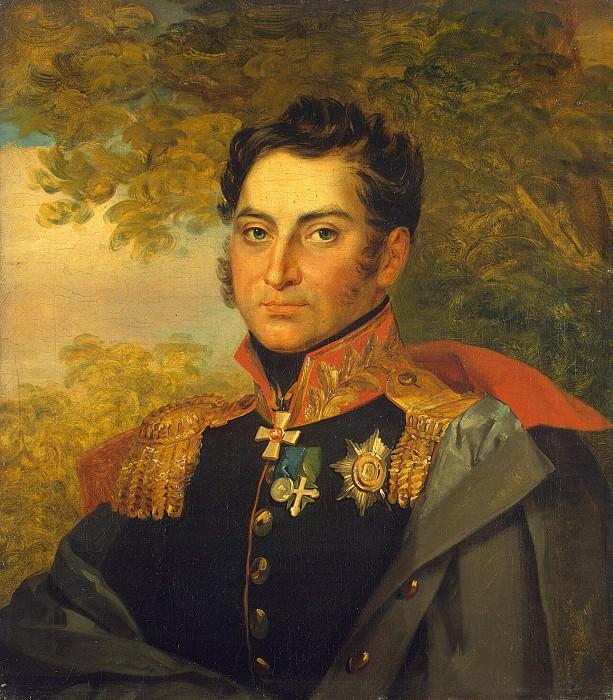 Dawe George - Portrait of Nikolai Vasilyevich Kretova. Hermitage ~ part 04