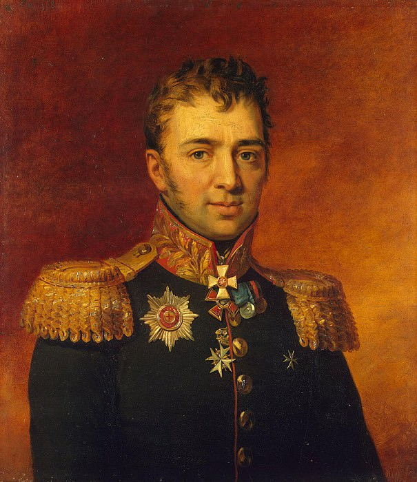 Dawe George - Portrait of Peter Gavrilovic Likhachev. Hermitage ~ part 04