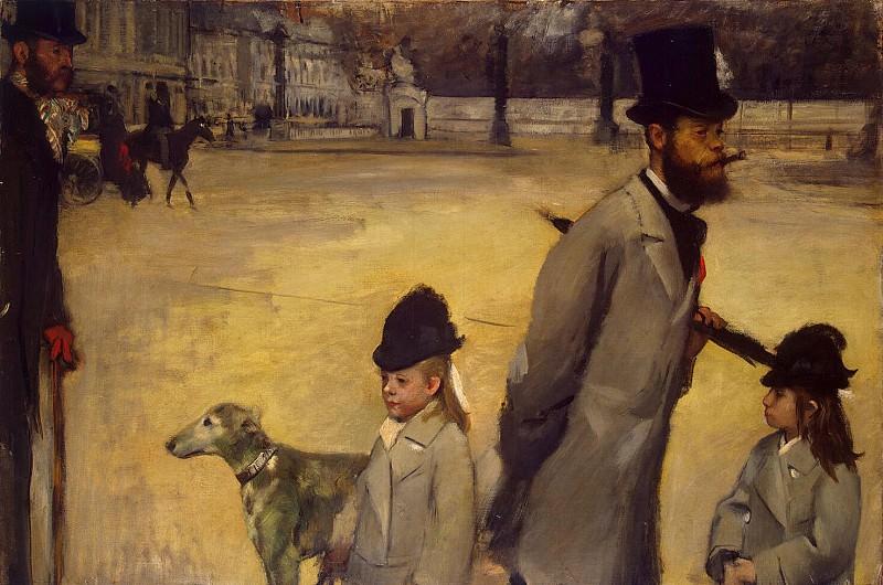 Degas, Edgar - Place de la Concorde. Hermitage ~ part 04