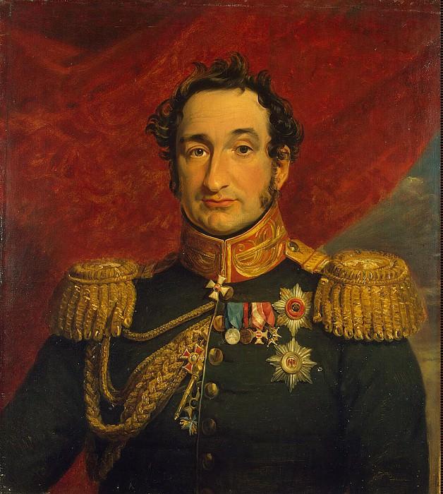 Dawe George - Portrait of Vasily Sergeyevich Trubetskoy. Hermitage ~ part 04