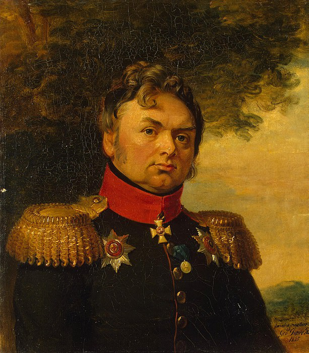 Dawe George - Portrait of Pavel Nikolayevich Choglokov. Hermitage ~ part 04