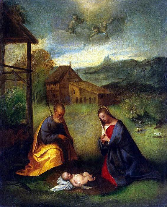 Джорджоне - Поклонение младенцу. Эрмитаж ~ часть 4