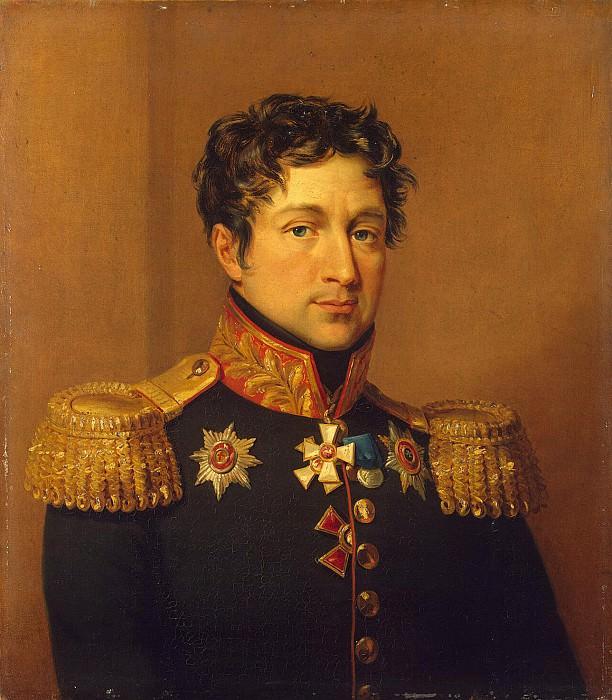 Dawe George - Portrait of Zakhar Dmitrievich Olsufev. Hermitage ~ part 04