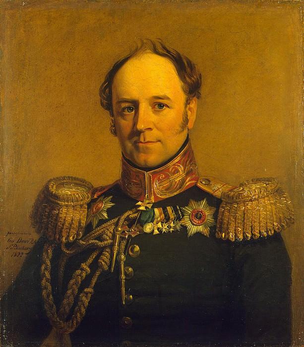 Dawe George - Portrait of Alexander von Benckendorff. Hermitage ~ part 04