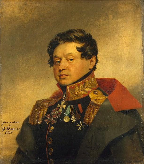 Dawe George - Portrait of Fyodor Ivanovich Mosolov. Hermitage ~ part 04
